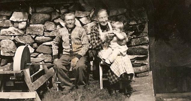 Foreldra til mormor på Nesheim